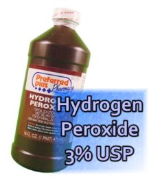 Peroxide 3% and dissolved oxygen