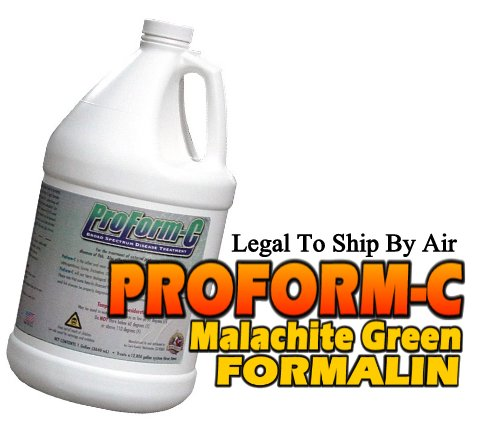 Proform C is a commercial formalin for fish